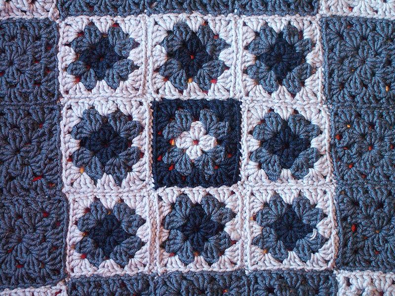 Merino blanket close-up