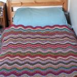 Wavy Woolen Blanket