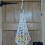 aran string bag