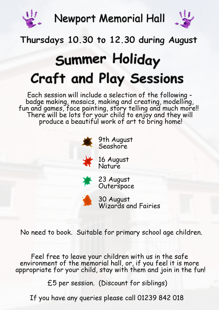 Newport Creat and Craft Poster
