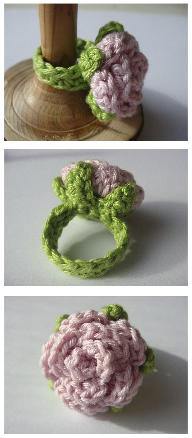 Crochet Rosie Ring