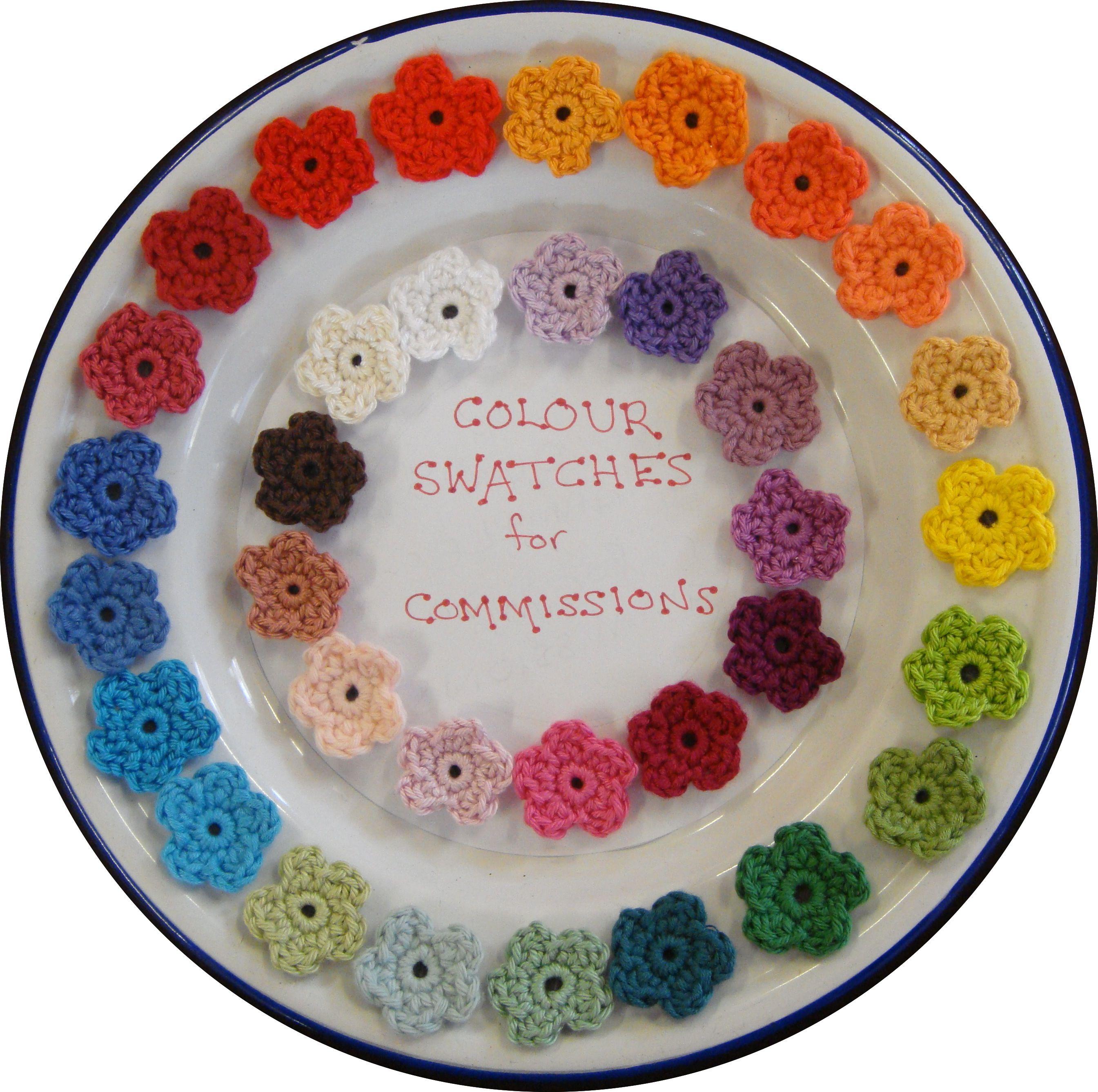 colour wheel swatches