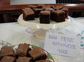 Chocolate Cake - egg free recipe