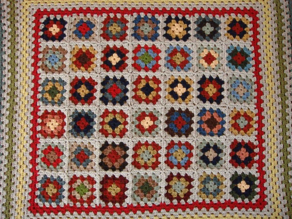 granny blanket middle