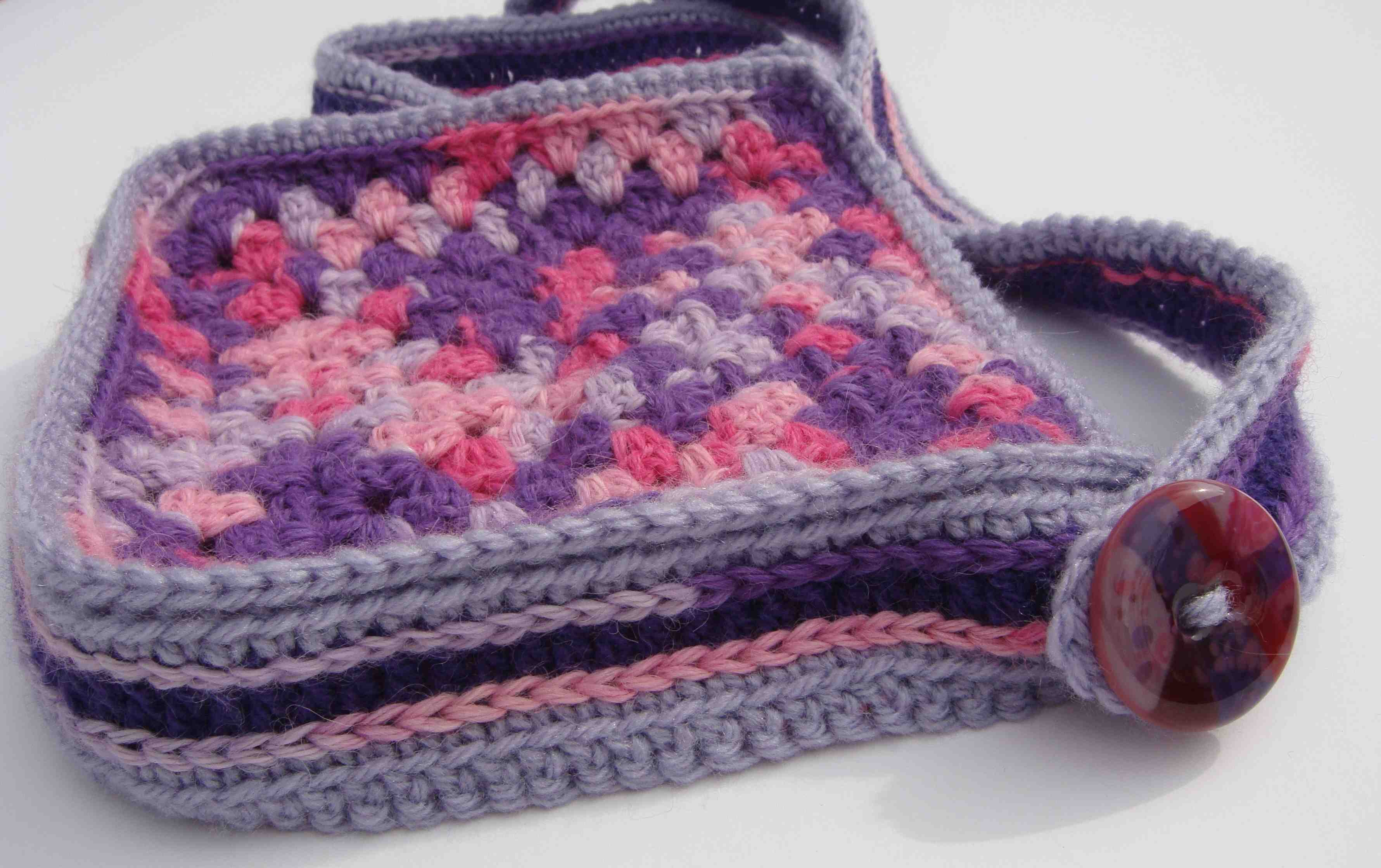 Granny Square Bag : granny square bag - Completeness