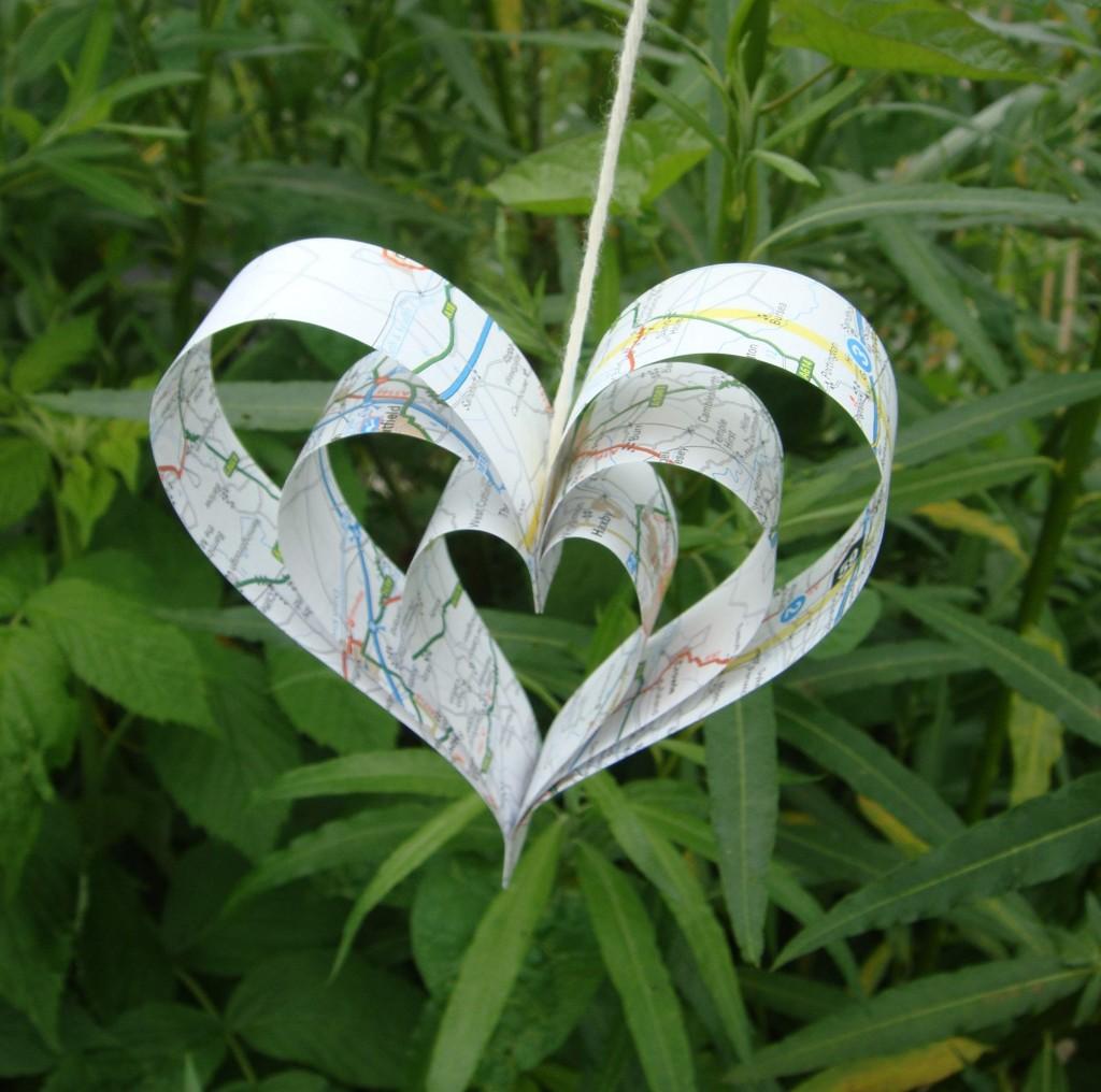 blog paper heart
