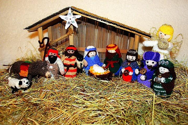 Free Crochet Patterns Nativity Scene : Crocheted Nativity Scene Related Keywords & Suggestions ...