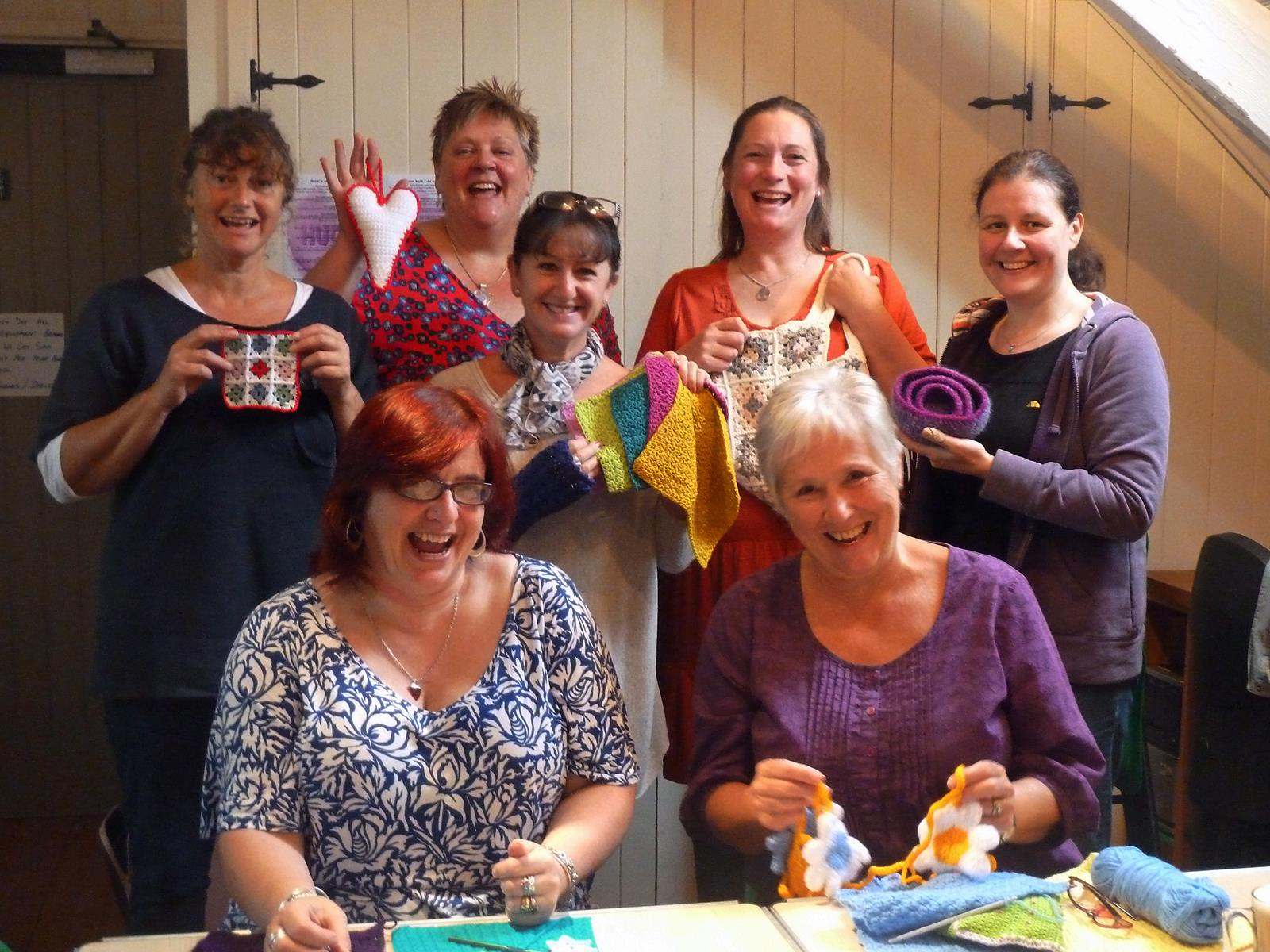 Crocheting Groups : Crochet group sep13-2