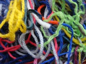 messy wool