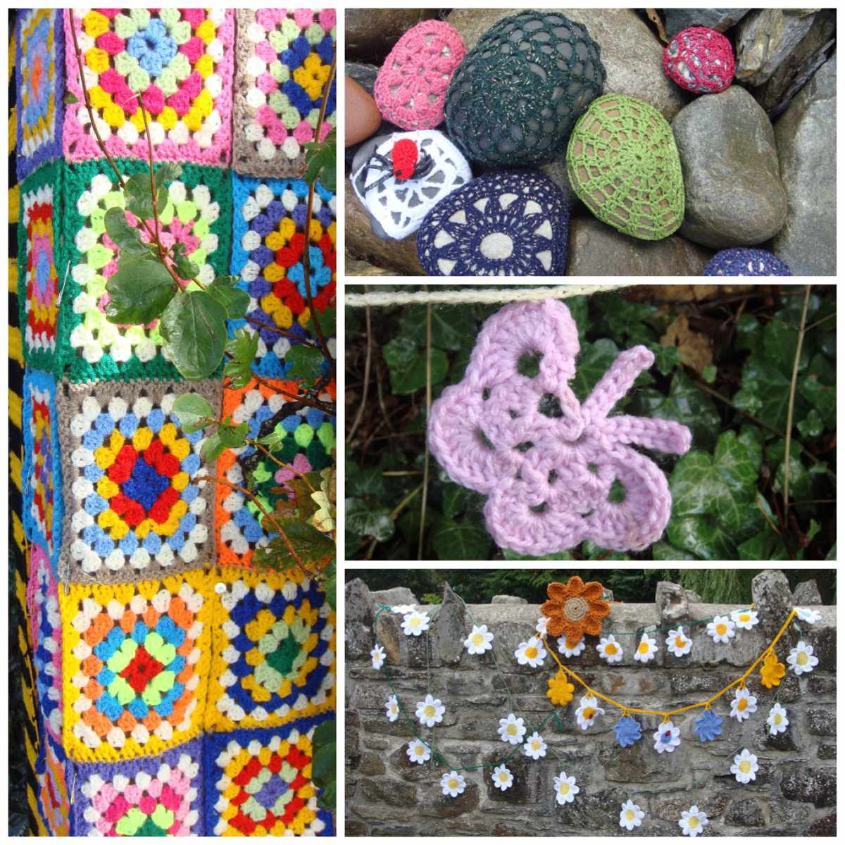 Community Crochet Collage