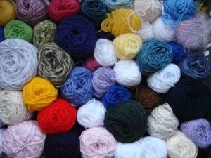 neat balls of wool