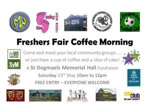 freshers fair poster