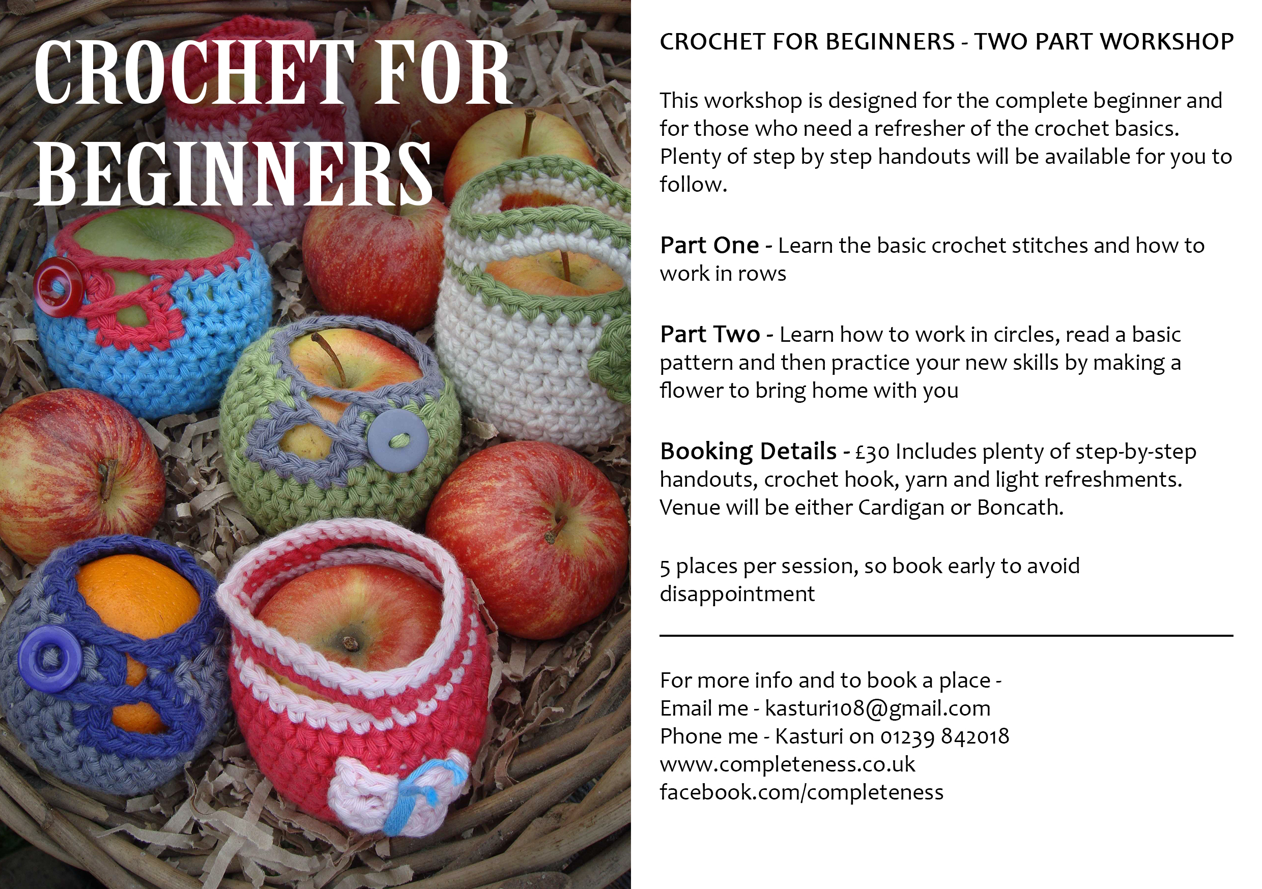 Crocheting Lessons For Beginners : ... there should be plenty to keep the Cardigan Bay Crochet Crew going