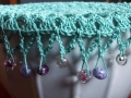 Kasturi\'s work gallery featuring a crochet jug cover