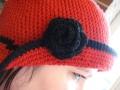 Kal's hat close-up